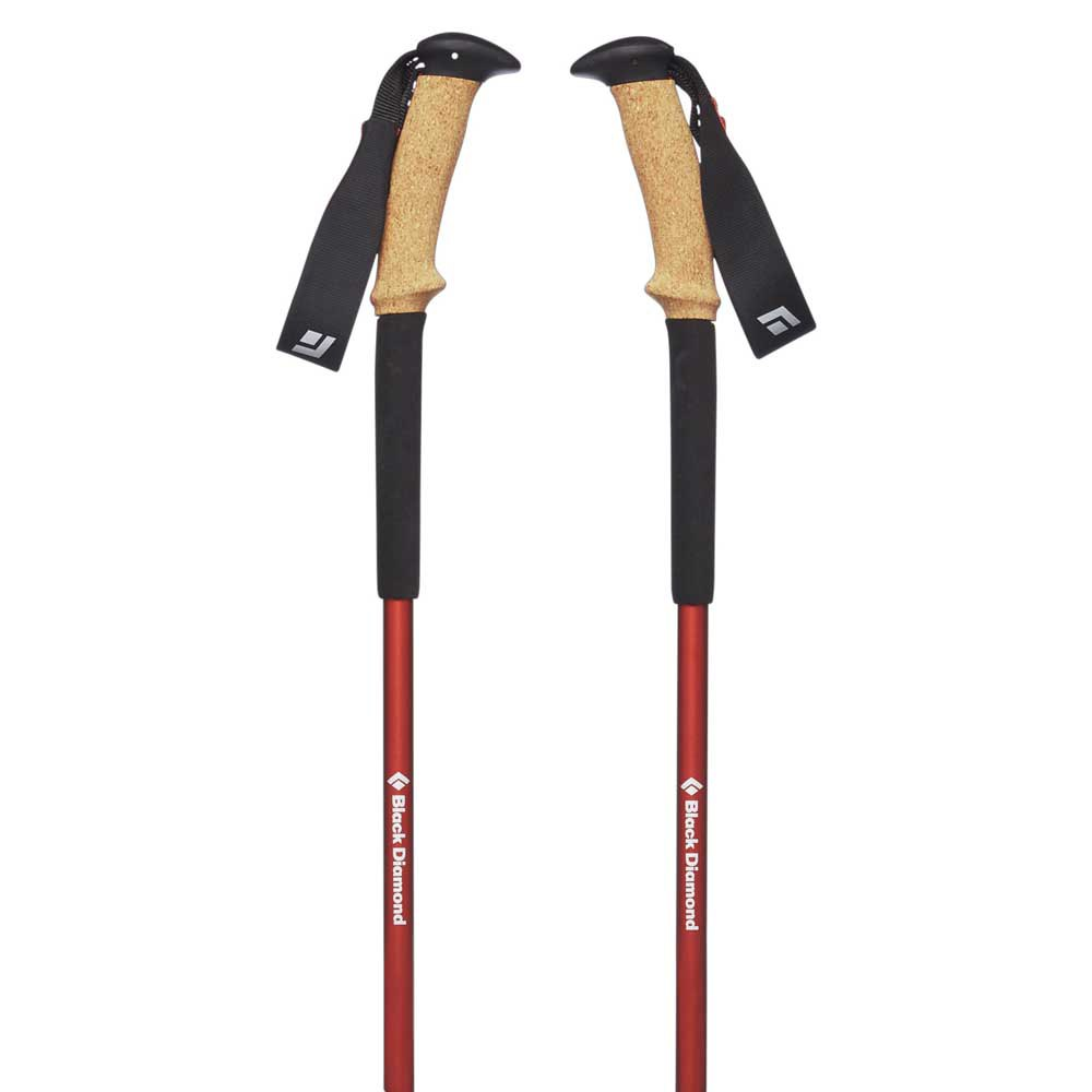 Black Diamond Trail Ergo Cork Hiking Poles - Picante - Find Your Feet Australia Hobart Launceston Tasmania