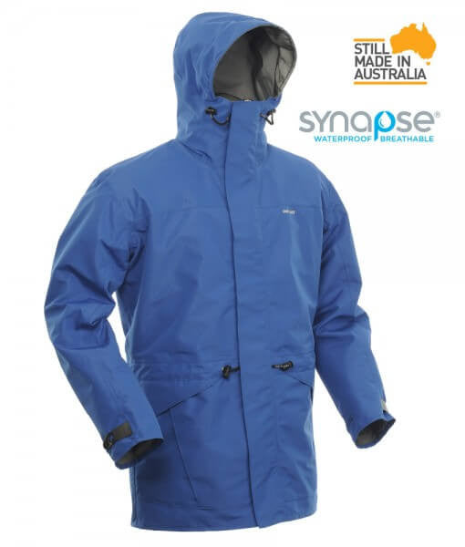 One Planet Cat & Dog Rain Jacket - Cyan - Find Your Feet Australia Tasmania