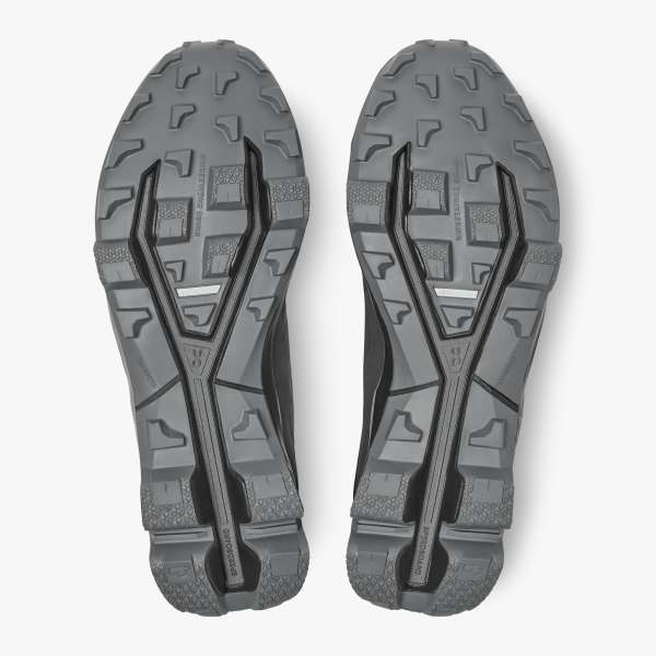 On Cloudventure Peak Trail Running Shoe (Men's) - Black Rock - Find Your Feet Australia Hobart Launceston Tasmania