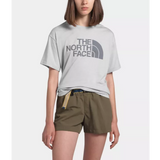The North Face Half Dome Tri-Blend SS Tee (Women's) - TNF Light Grey Heather - Find Your Feet Australia Hobart Launceston Tasmania