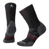 Smartwool PhD Outdoor Medium Crew (Women's) - Black Red - Find Your Feet Australia Hobart Launceston Tasmania