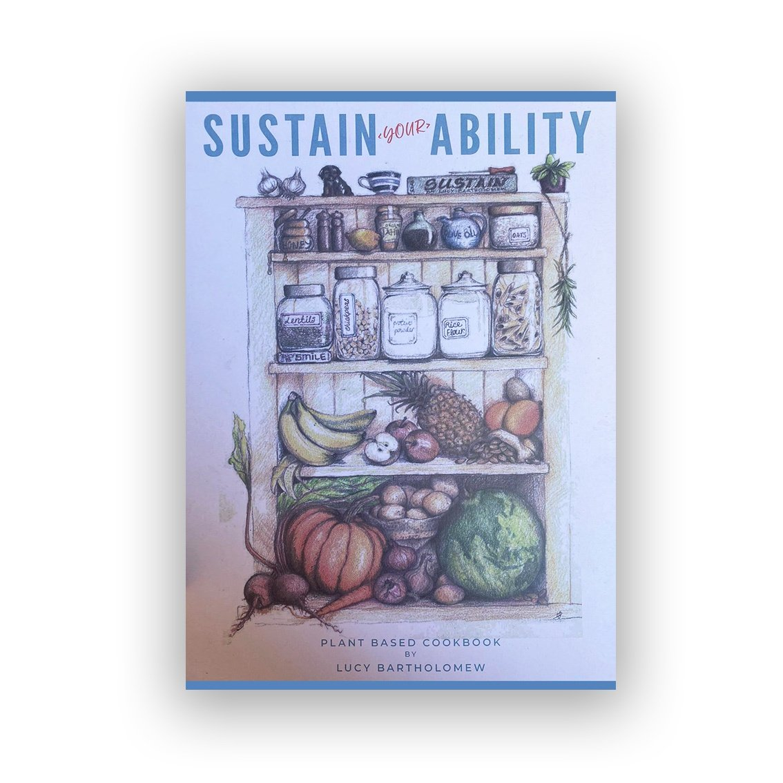 Sustain Your Ability - Lucy Bartholomew (Book) - Find Your Feet Australia Hobart Launceston Tasmania