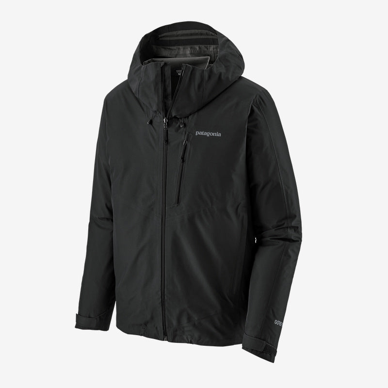 Patagonia Calcite Gore-Tex Waterproof Jacket (Men's) Black - Find Your Feet Australia Hobart Launceston Tasmania