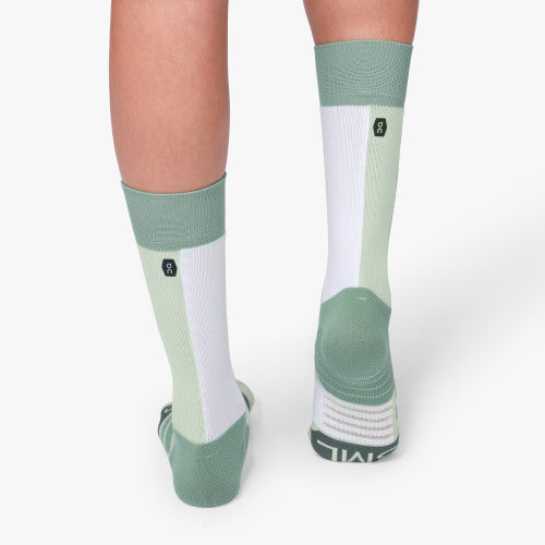 On High Sock (Women's) - Mineral White - Find Your Feet Australia Hobart Launceston Tasmania