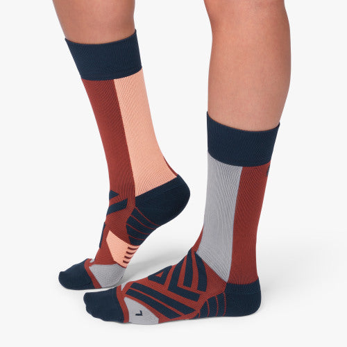 On High Sock (Women's) - Ox Navy - Find Your Feet Australia Hobart Launceston Tasmania