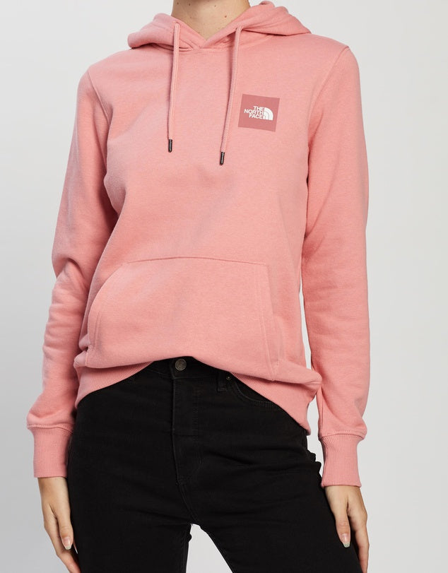 The North Face Box PO Hoody (Women's) - Mauve Glow - Find Your Feet Australia Hobart Launceston Tasmania