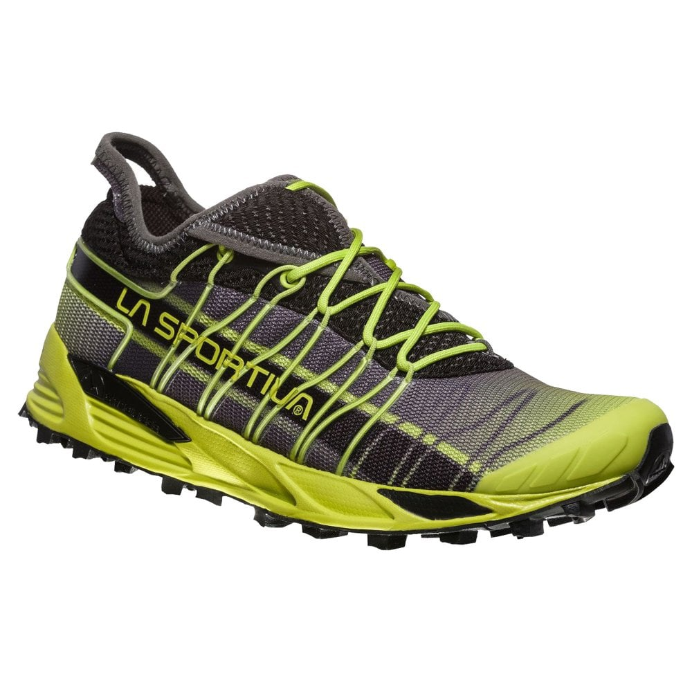 La Sportiva Mutant Trail Running Shoes (Unisex) - Apple Green Carbon - Find Your Feet Australia Hobart Launceston Tasmania