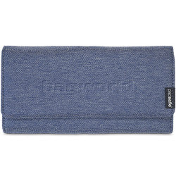 Pacsafe RFIDSAFE LX200 Wallet - Denim - Find Your Feet Australia Hobart Launceston Tasmania