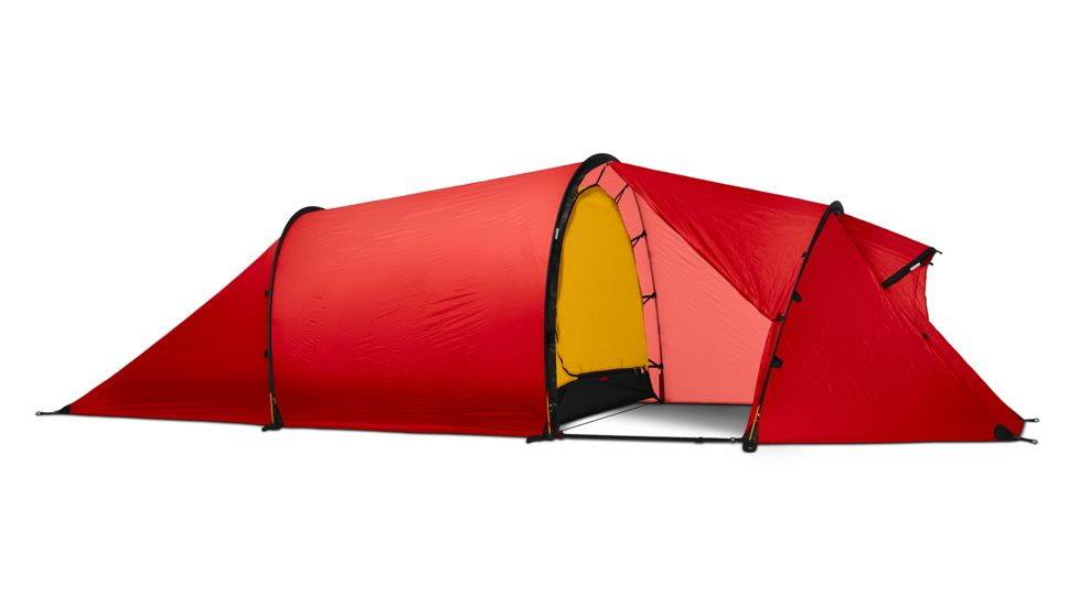 Hilleberg Nallo 4 GT 4 Season Lightweight Hiking Tent - Red - Find Your Feet Australia Hobart Launceston Tasmania