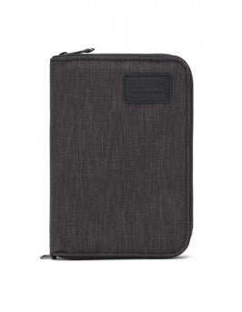 Pacsafe RFID Blocking Compact Travel Organizer - Carbon - Find Your Feet Australia Hobart Launceston Tasmania