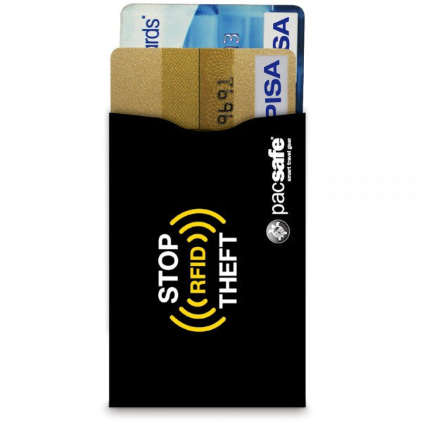 Pacsafe RFID Sleeve 25  for Credit Card - 2 Pack - Find Your Feet Australia
