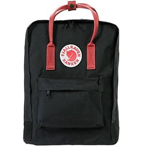 Fjallraven Kanken Backpack  - Black Ox Red - Find Your Feet Australia Hobart Launceston Tasmania