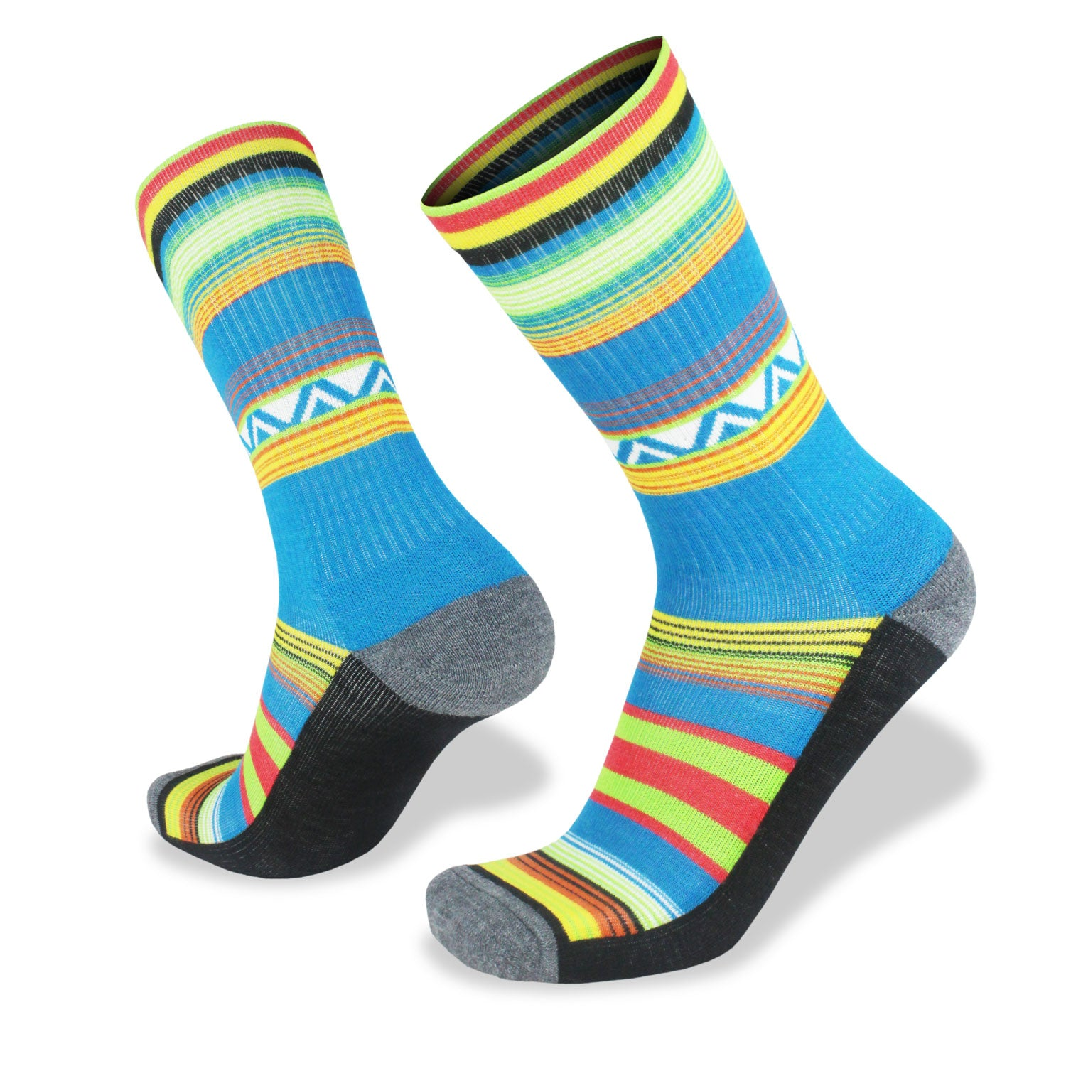 Wilderness Wear Fusion Light Hiking Socks (Unisex) - Tribal - Find Your Feet Australia Hobart Launceston Tasmania