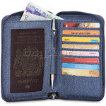 Pacsafe RFIDSAFE LX150 Wallet - Denim - Find Your Feet Australia Hobart Launceston Tasmania