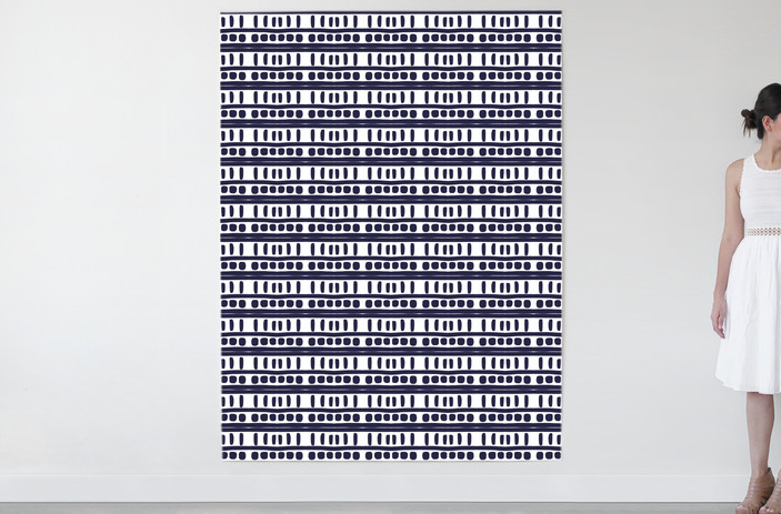 Dot fabric by Parima Studio for Minted