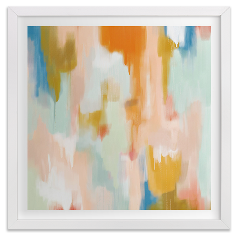 Deserai abstract art print by Patricia Vargas of Parima Studio for Minted