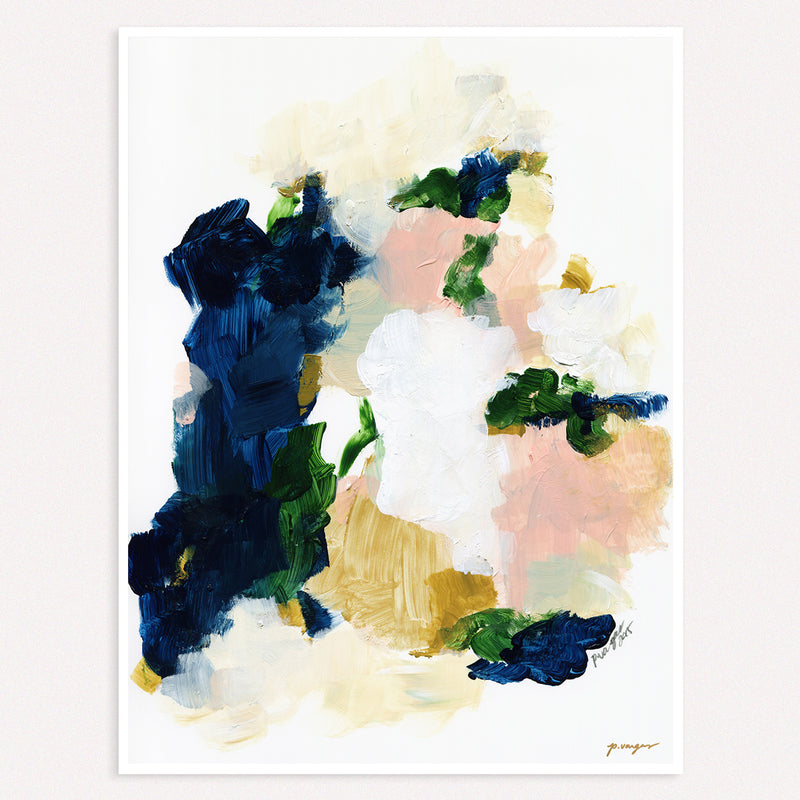 Color Series No.2, minimal abstract art print by Parima Studio