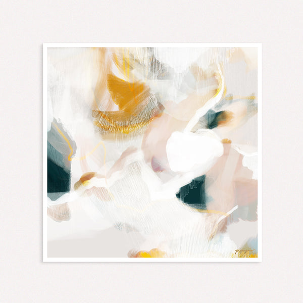 Evangeline, large abstract art by Parima Studio
