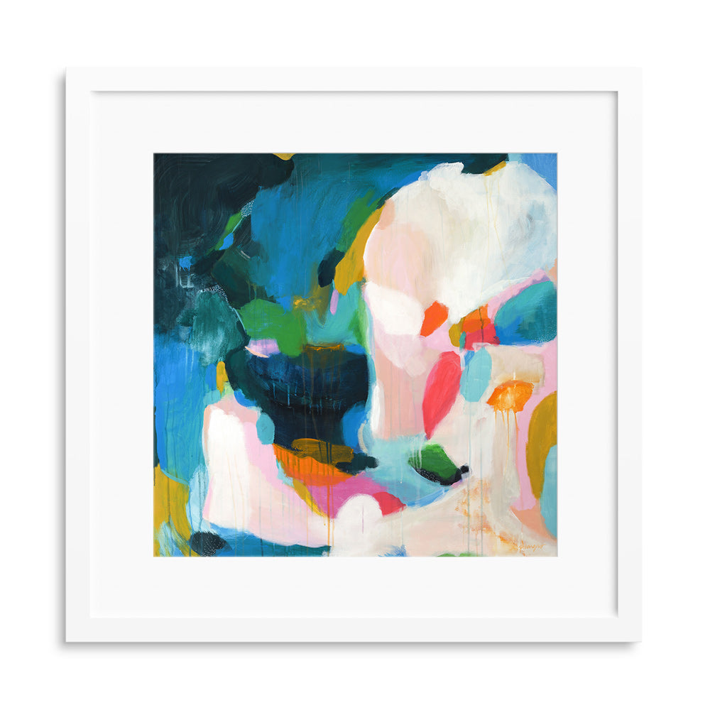 Felicity, abstract art print by Parima Studio