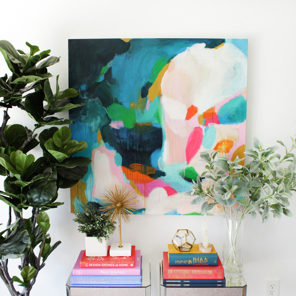 Felicity by Parima Studio // abstract painting