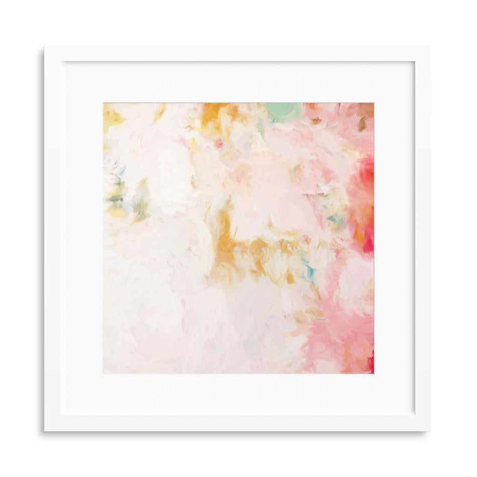 Kate and Cheri, set of 2 abstract art prints by Parima Studio
