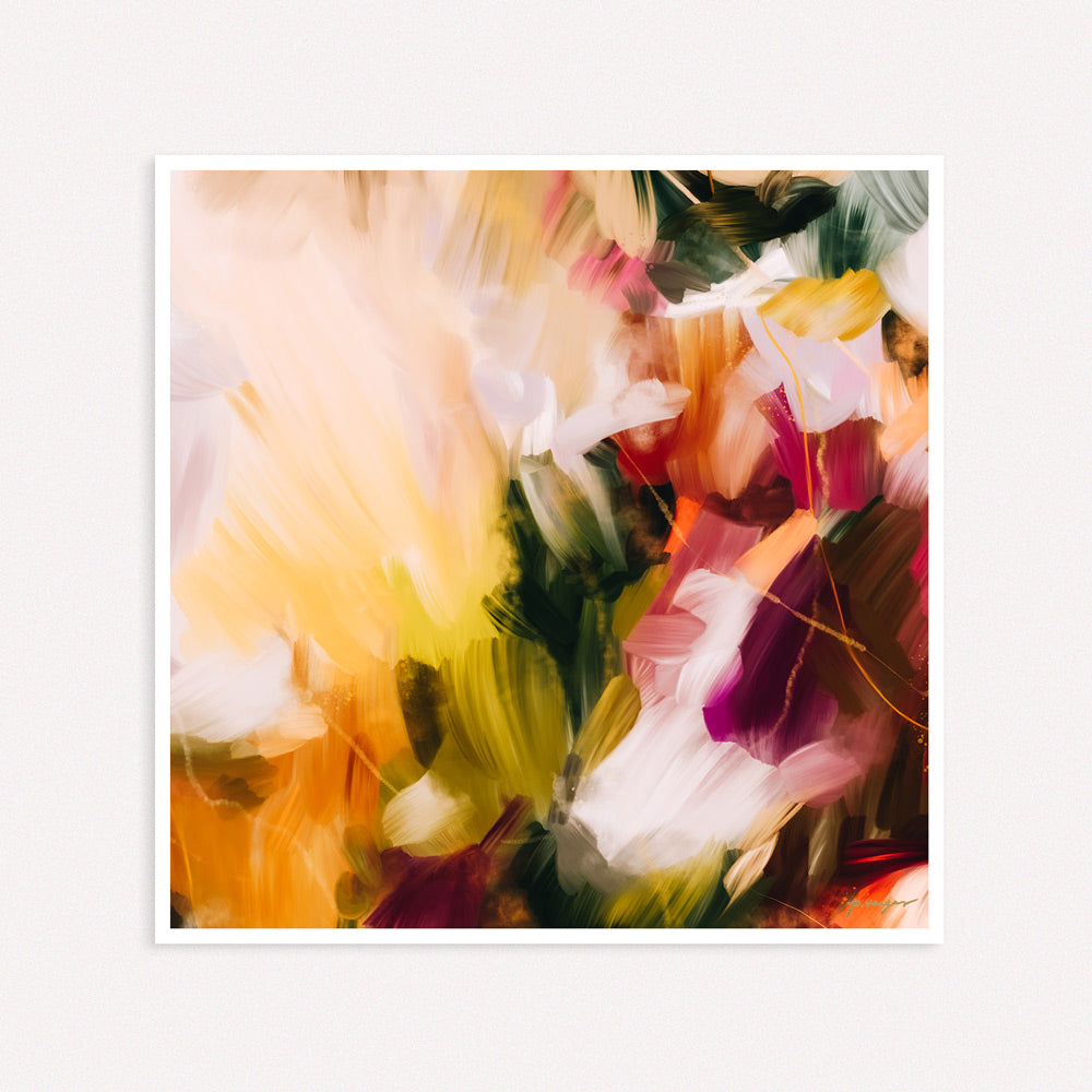 Hideaway, abstract art print by Parima Studio- Limited edition