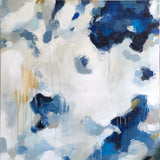 Nuve by Parima Studio // blue abstract acrylic painting