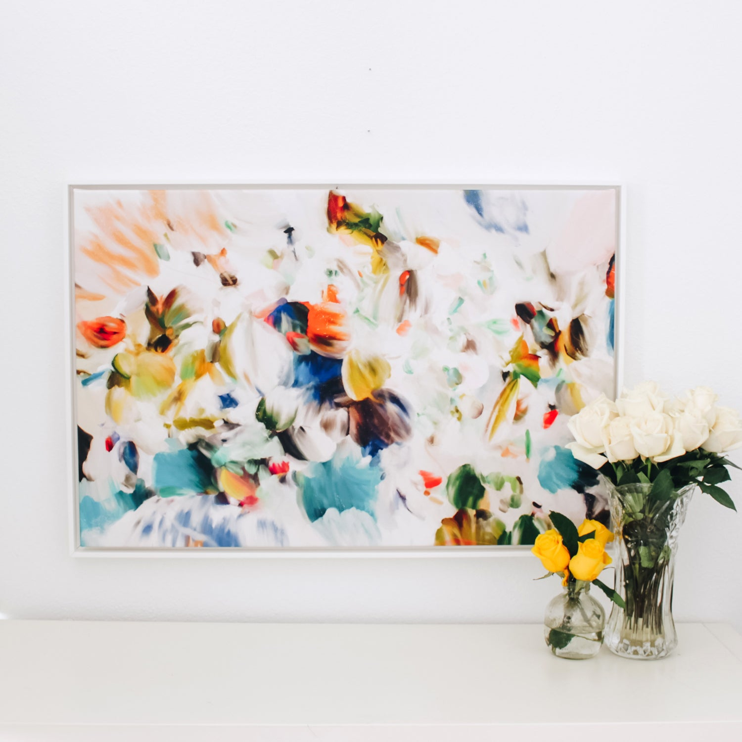 Primavera, abstract art print by Parima Studio