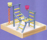 "Acrobird Toddler Playland 14"" Stand"