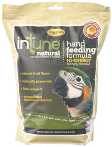 InTune Natural Hand Feeding Formula - Hi-Energy - 5 lb bag