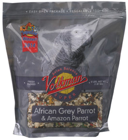 Volkman Avian Science African Grey - 4 lb