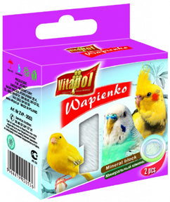 Vitapol - Mineral Block for Birds - Natural -2ct