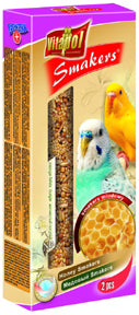 Vitapol - Honey Smakers for Budgies - 2 Ct - Parakeet Treat Sticks