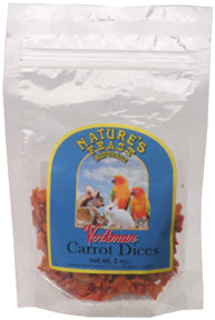 Dried Carrot Dices - 2 oz