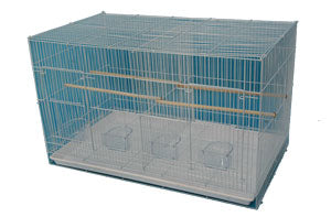 "Flight Cage with Divider 30"" x 18"" x 18"""