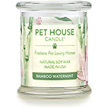Bamboo Watermint Pet House Candle
