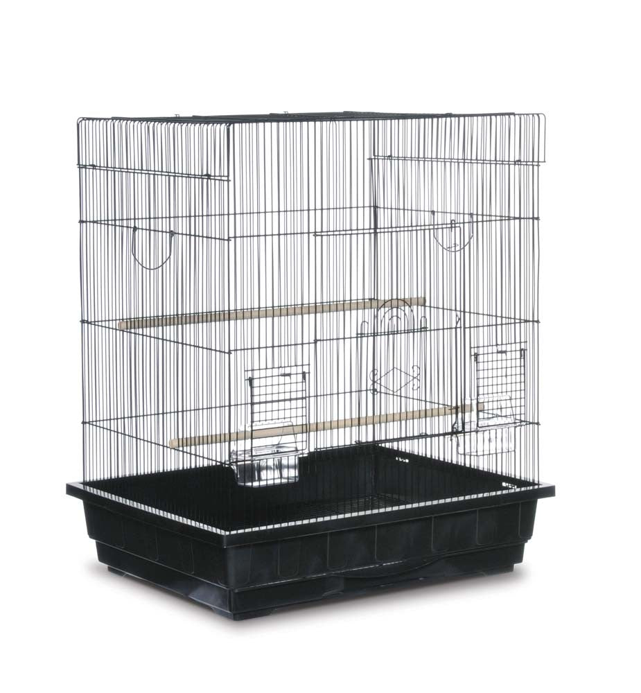 Square Top Parakeet or Cockatiel Cage 25x21