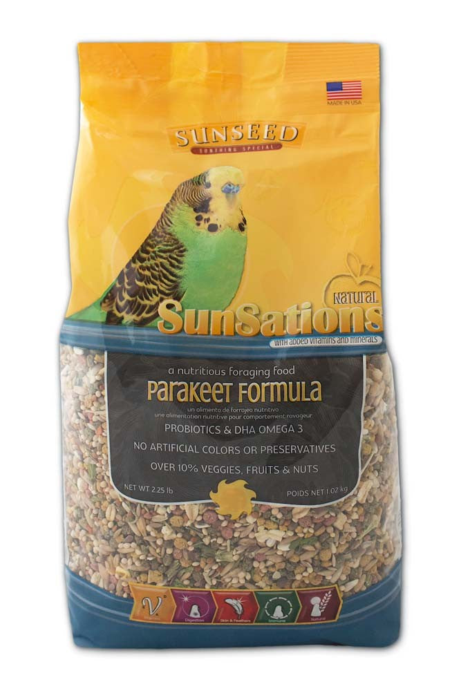 Sunseed SunSations Parakeet