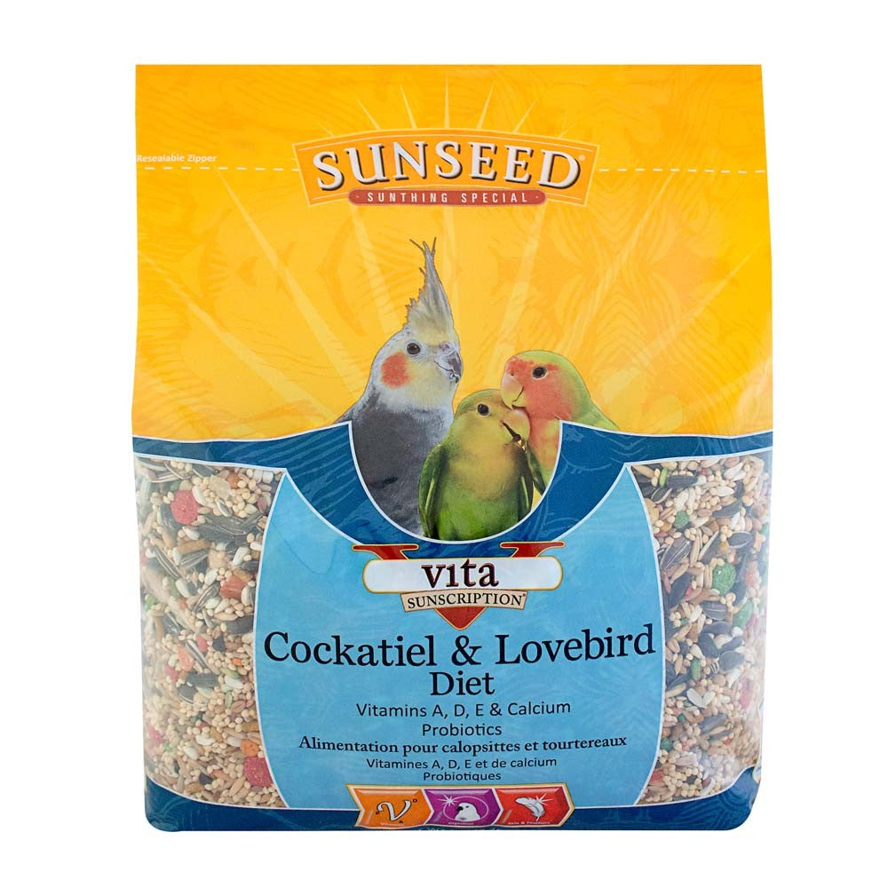 Sunseed VIta Sunscription Cockatiel/Lovebird