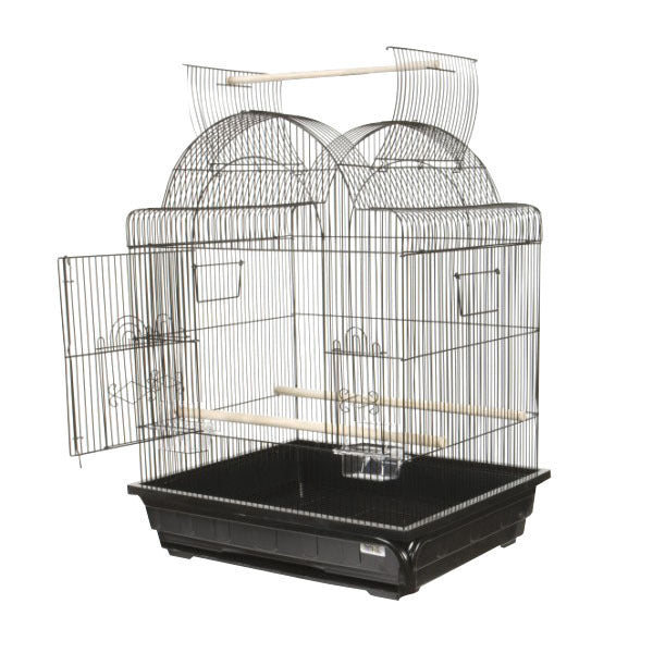 "Victorian Open Top Cage 25"" x 21"""