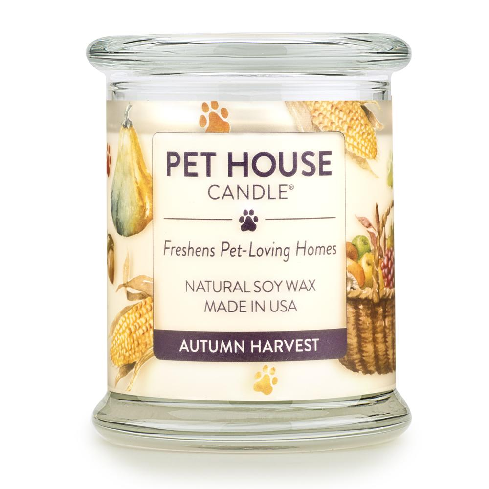 Autumn Harvest Pet House Candle