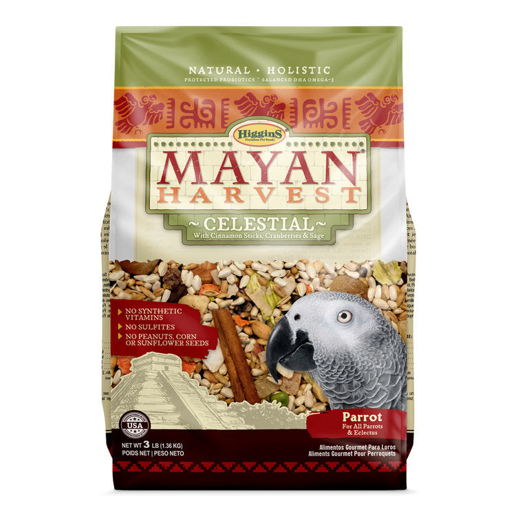 Mayan Harvest Celestial for Medium to Large Birds