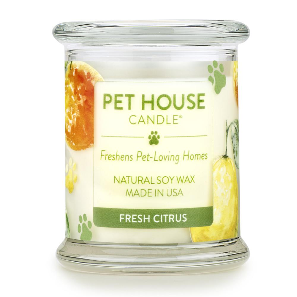Fresh Citrus Pet House Candle