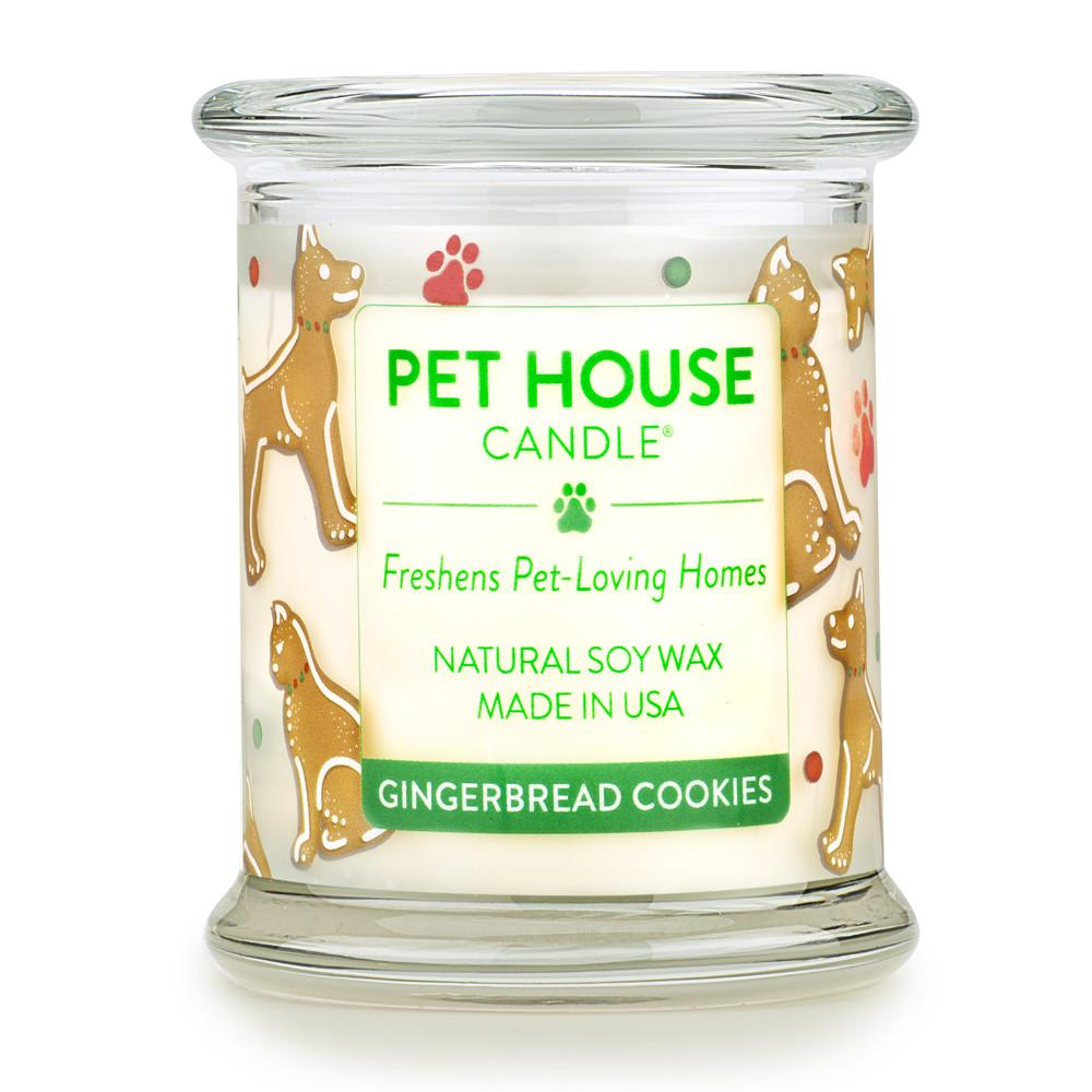 Gingerbread Cookies Pet House Candle