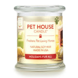 Holidays Fur All Pet House Candle