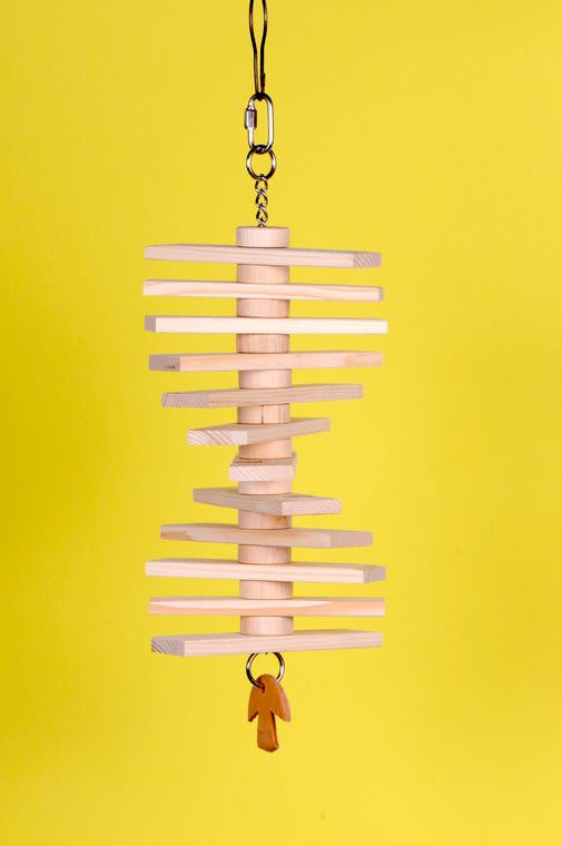 Natural Wood Slat Toy