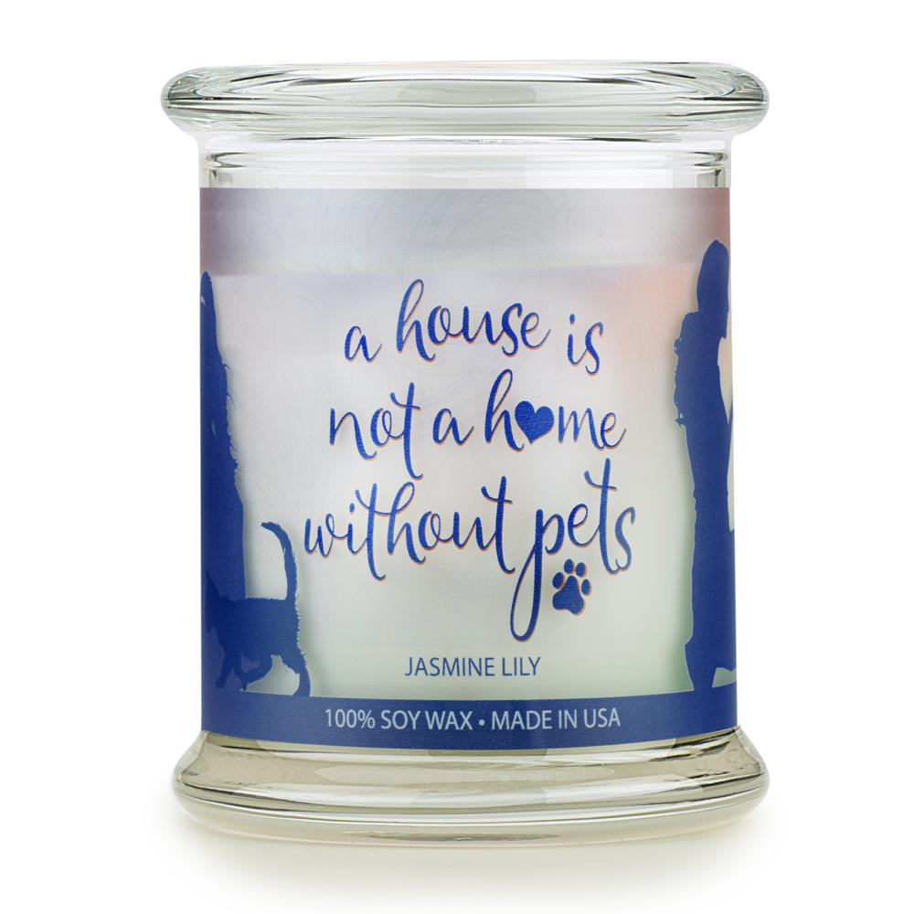 Jasmine Lily Pet House Candle