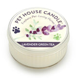 Lavender Green Tea Mini Pet House Candle