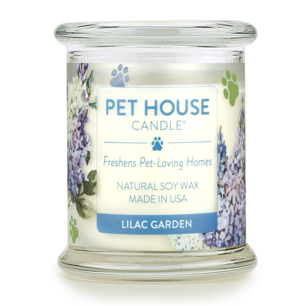 Lilac Garden Pet House Candle