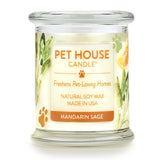 Mandarin Sage Pet House Candle